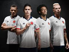 adidas Launches New Special Edition Kit for Colombia's National Football Team to Wear at the Copa América Centenario