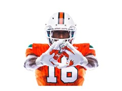 "The University of Miami & adidas Unveil ""Legend of the U"" Football Uniforms"