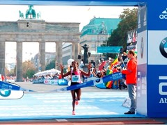 adidas' BOOST technology powers Aberu Kebede to victory in Berlin