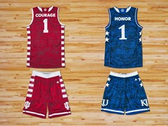 adidas Unveils Commemorative Armed Forces Classic Uniforms for Indiana and Kansas Basketball