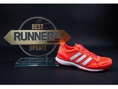 adidas adizero adios BOOST 3.0 ganha prêmio de melhor atualização pela Runner's World internacional