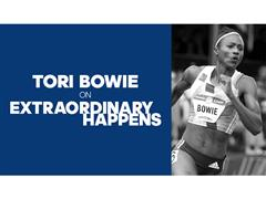 PODCAST: Olympic Track Star Tori Bowie joins adidas Group's Mark King
