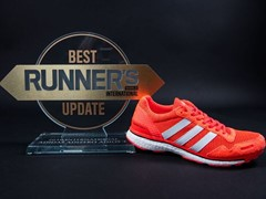 La zapatilla adizero adios 3.0 recibe el Best Update Award por Runner's World International