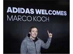 Drei Streifen für Dreifach-Weltmeister Marco Koch