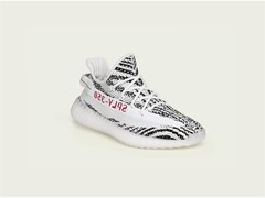 Der YEEZY BOOST 350 V2 kommt in White / Core Black / Red
