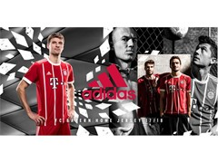 adidas revela uniforme principal do FC Bayern de Munique