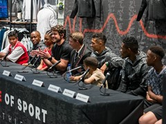adidas athletes inspire the next generation at the Z.N.E Pulse Activation in Sandton City