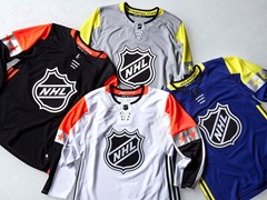 NHL and adidas Unveil 2018 Honda NHL® All-Star Uniforms