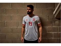 Segunda equipación de la Selección Española para el Mundial de Rusia 2018