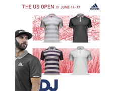 adidas Golf Reveals U.S. Open Scripting
