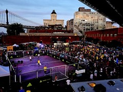 ADIDAS CELEBRATES SOCCER IN NEW YORK;  CROWNS ALEXIS SANTA NEW YORK CITY TANGO MVP