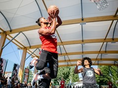 NBA-Star Porzingis und AS1 bringen Summer Vibes in die Hauptstadt