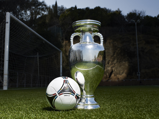 UEFA Euro 2012 Trophy and Official Match Ball