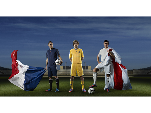 England vs Ukraine vs France