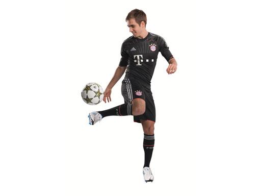 Philipp Lahm im neuen Champions League Trikot
