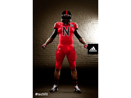 Nebraska TECHFIT Uniform Front