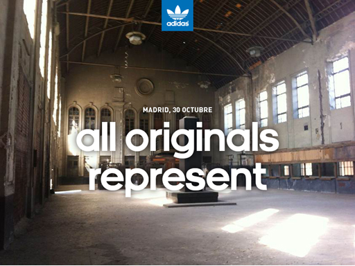 Madrid, 30 Octubre all Originals Represent