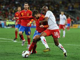 Spain vs Switzerland