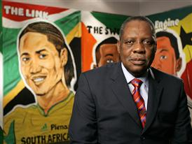 Issa Hayatou, President of the Confederation of African Football