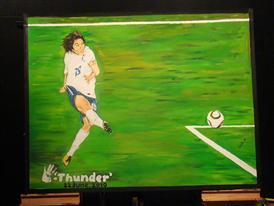 FIFA 2010 WORLD CUP ADIDAS THUNDER PAINTING JUNE 22