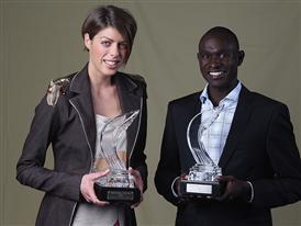 World Athletes of the Year: Rudisha and Vlasic Scoop Top Awards