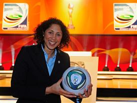 Steffi Jones, Head of organization committee for 2011 FIFA Women's World Cup TM