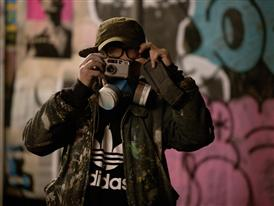 Behind the Scenes Photography of Cyclops from adidas and Vice Secret Party in London