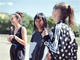 Behind the Scene Photography from the Women's FW/11 Campaign