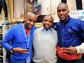 DJ Giggs Superstar< Zobuzwe Ngobese, Morgan Gould