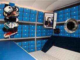 Photo booth inside adibus