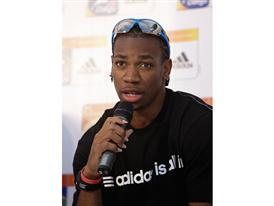 adidas Press Conference at the IAAF World Championships