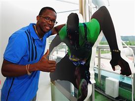 Dayron Robles (CUBA 110m hurdles)