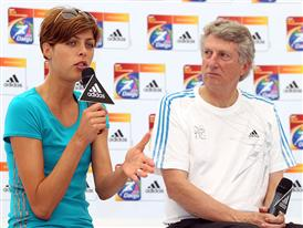 29th August - The adidas Original - Dick Fosbury and Blanka Vlasic