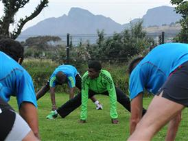 Gebrselassie inspires South African runners