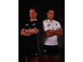 All Blacks -  playing strip both home & away