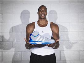 Dwight Howard with adiPower Howard 2