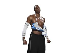 Dwight Howard with adiPower Howard 3
