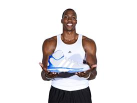 Dwight Howard with adiPower Wall