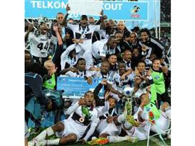 Orlando Pirates are 2011 Telkom Knockout champions!