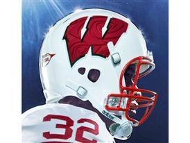 Wisconsin adidas Rose Bowl Uniform