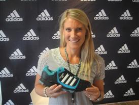 Kate Woods racks up milestone
