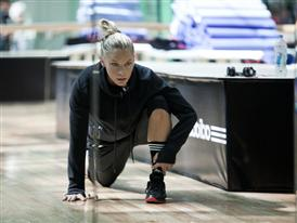 adidas boxing inspired training SS12 - Ashley Conrad