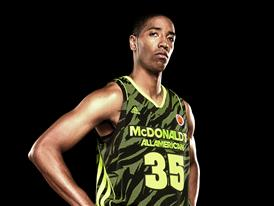 McDonald's All American adizero West Uniform 1