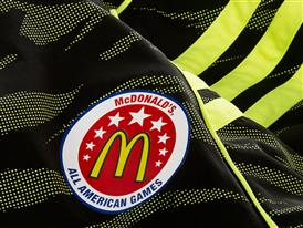 McDonald's All American adizero West Uniform Details