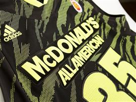 McDonald's All American adizero West Uniform Jersey