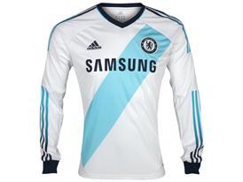 Long sleeve adidas Chelsea FC Away Kit