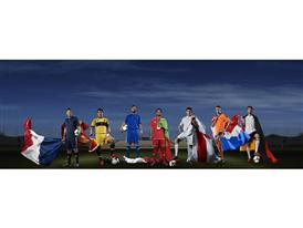 adidas group image for UEFA Euro 2012 launch