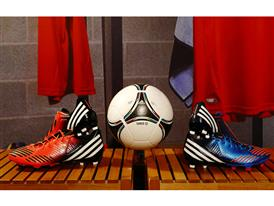 Tango 12 and adidas boots