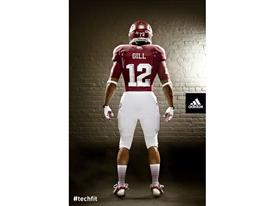 adidas Texas A&M Lone Star Uniform_BACK