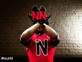 Nebraska TECHFIT Uniform Gloves